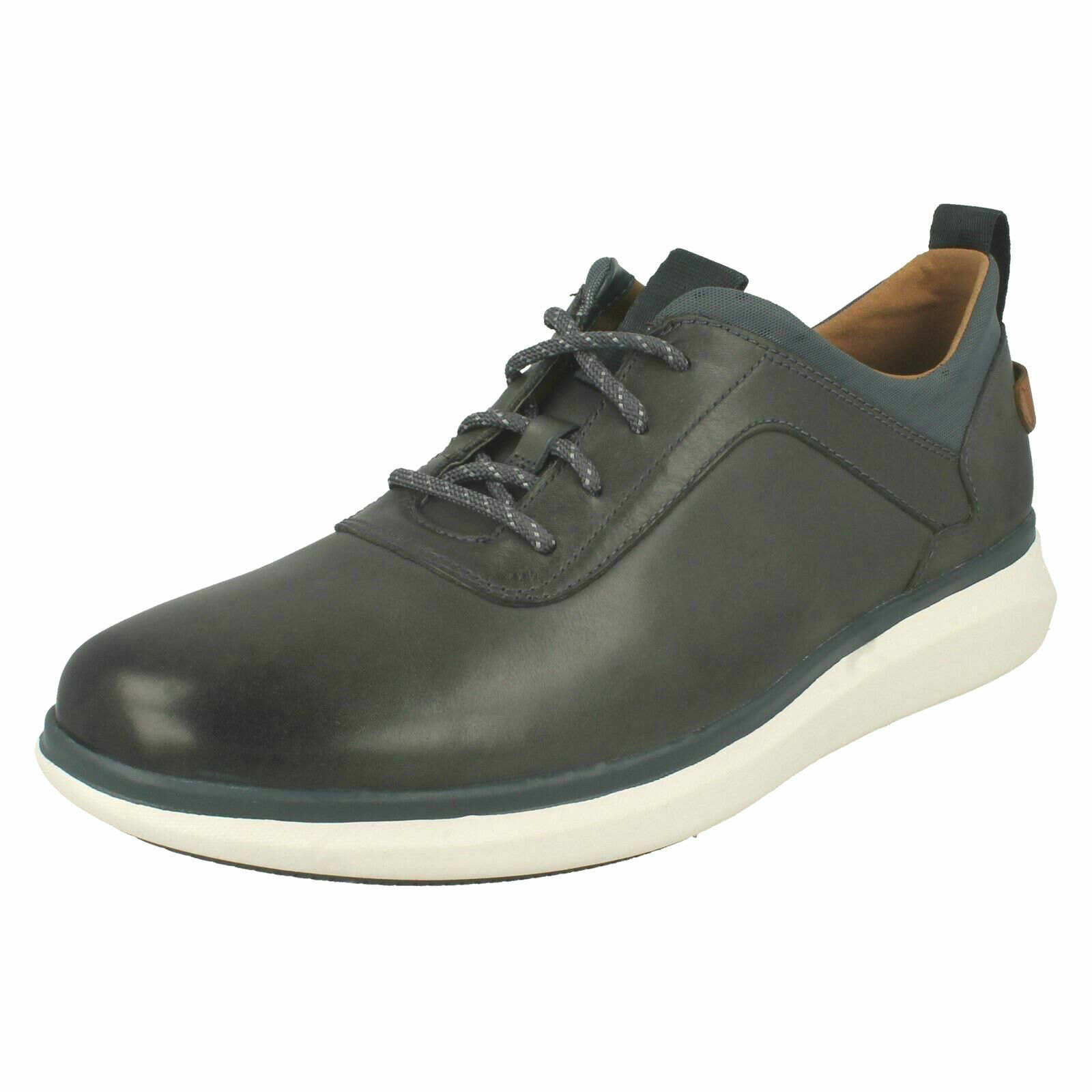 Mens Clarks Unstructured Un Globe Vibe Casual Lace Up shoes - G Fitting