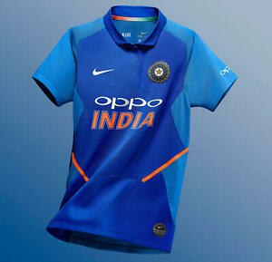 Details About Nwt India Cricket Team 2019 2020 Odi Jersey Tshirt Freeship Size Smlxl