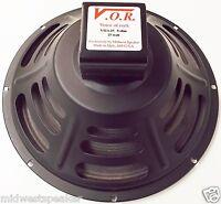 "VOR 12"" Alnico 25 watt Guitar Speaker - 8 ohm - NEW STOCK - Jensen P12R Upgrade"