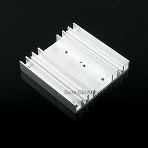 3x3inch-Aluminum-Heat-Sink-for-10W-LED-Silver-White-with-M3-Screw-6-M2-Screwx2