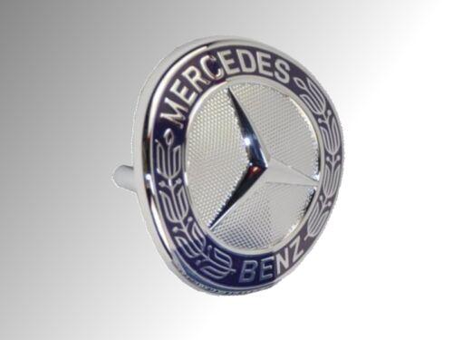 Original Mercedes-Benz Emblème Logo pliure au Calandre Bleu Classe E w211 w212