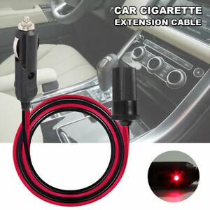 5-m-12-V-Voiture-Cigarette-Allume-Cigare-Cable-d-039-extension-adaptateur-Socket-Chargeur-cordon