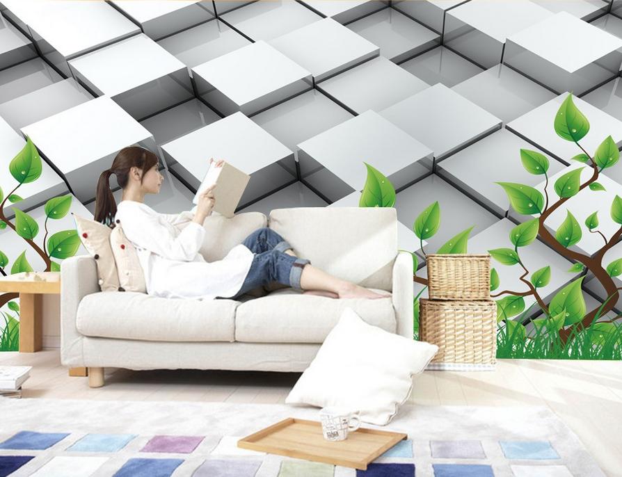 3D Kunst Zauberwürfel 9 Tapete Wandgemälde Tapete Tapeten Bild Familie DE Summer