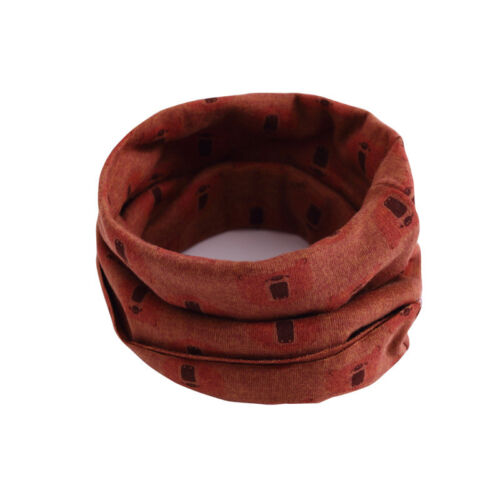 New Children Neckerchief Warm Cotton Neck Scarf Girl Scarf Shawl Winter Ring