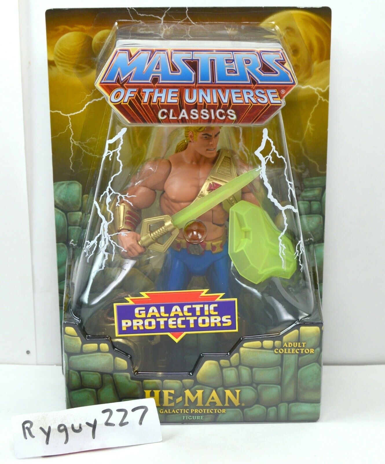 MOTUC, He-Man, Galactic Protector, Masters of the Universe Classics, MOC, sealed