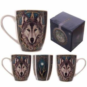 Lisa-Parker-Design-Loup-Tete-Neuf-OS-Chine-The-Cafe-Tasse-Fantaisie-Cadeau-Boite