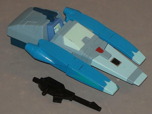 G1 TRANSFORMER AUTOBOT BLURR COMPLETE   4 CLEANED
