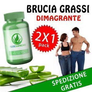 Integratore Per Dimagrire ALOE SUPREME FEROX Brucia Grassi 240cps Perdita Peso