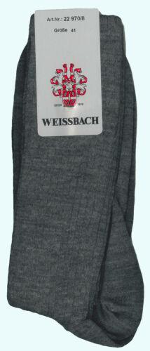 NUOVO Unisex Weissbach stützstrumpf schurwoll-Calzettoni TG 38-52 Top-Qualità