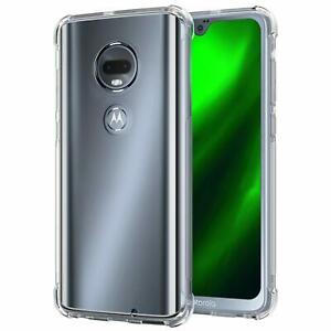 For-Moto-E6-G7-E5-Plus-G6-Play-G7-Power-Clear-Soft-TPU-Shockproof-Case-Cover