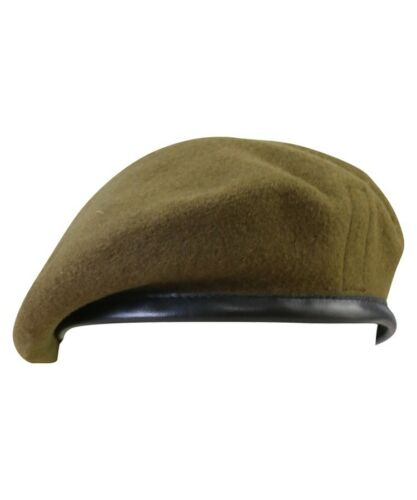 Military Style Beret Army RAF Marines Navy Black Blue Green Maroon Khaki Airforc