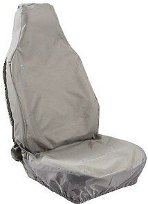 * Pack of 2 ABCGRY Grey Town and Country Air Bag Compatible Seat Cover