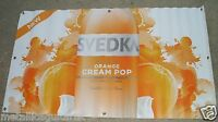 Svedka Orange Cream Pop Vodka - 50 X 28 Promotional Vinyl Wall Banner