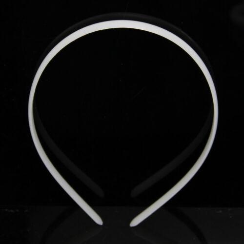 12pc of Lot Fashion Plain Lady Plastic Hair Band Headband No Teeth Hair DIY Tool