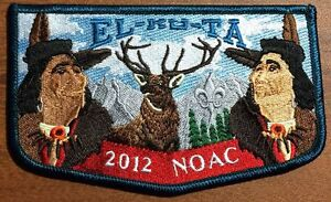 EL-KU-TA-OA-LODGE-520-GREAT-SALT-LAKE-UTAH-UT-2015-PATCH-2012-NOAC-DELEGATE-FLAP
