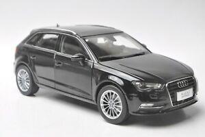 Audi-A3-sportback-car-model-in-scale-1-18-Black