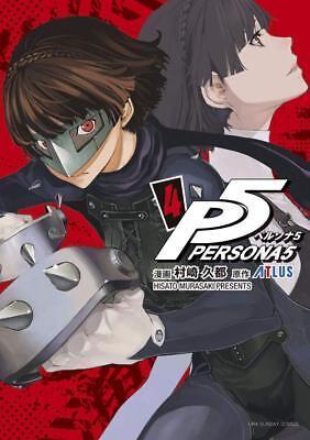 Persona 5 4 Japanese Comic Manga Game P5 Akira Kurusu Ebay