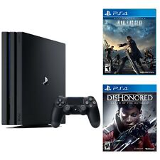 Playstation 4 Pro 1TB Console +  Dishonored  Death + Final Fantasy XV