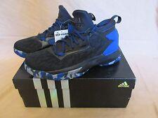 separation shoes fe454 aac24 item 2 New Youth/Men's Adidas D Lillard 2 Basketball Shoes Black/Royal Blue  B42384 Sz 7 -New Youth/Men's Adidas D Lillard 2 Basketball Shoes Black/Royal  ...