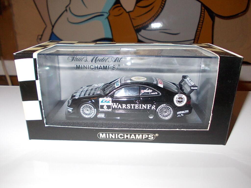 Minichamps Minichamps Minichamps 1 43 - MERCEDES-BENZ CLK DTM 2000 team AMG  6 M. Faessler  étais une  7922f3