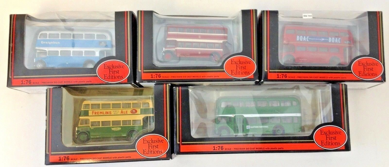 Gilbow Exclusiv First Editions Bus 1 76 scale No 's 10120 14002 15601 26501 27201