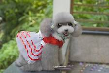 Luxury Various Pet Puppy Small Dog Cat Lace Party Dress Apparel Clothes 50+Types