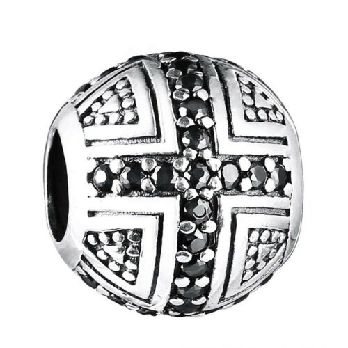 Hot Fine Brand Jewelry Charms Bead For 3mm European 925 Sterling Silver Bracelet
