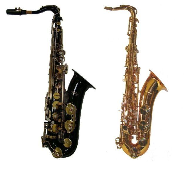 NEW Merano Bb Tenor Saxophone,Case~Gold,Black,Silver ~ INTERMEDIATE STUDENT BAND