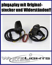 Schwarze LED Blinker Verkleidungsblinker BMW S 1000 RR smoked fairing signals