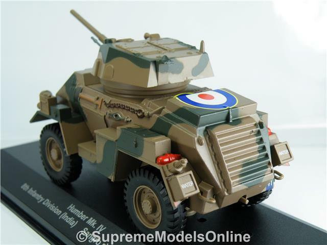 Humber Mk IV Tanque Ejército Ejército Ejército Militar Modelo 1943 Italia problema de escala 1 43RD K8967Q ~   ~ e243b6