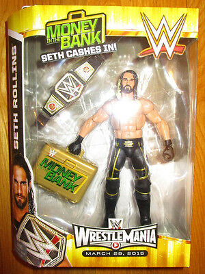 WWE ELITE Seth Rollins Exclusive Figure Money in the Bank Heavyweight MITB TRU
