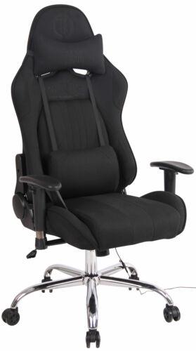 Bürostuhl Limit XM Stoff mit Massagefunktion Computerstuhl Drehstuhl Chefsessel