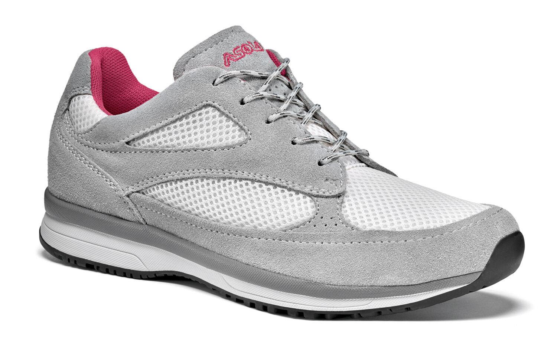 Schuhe Basse Hiking Trekking Damenschuhe ASOLO HALESIA ML 38 UK 5 - 38 ML Grau Rosa 424880