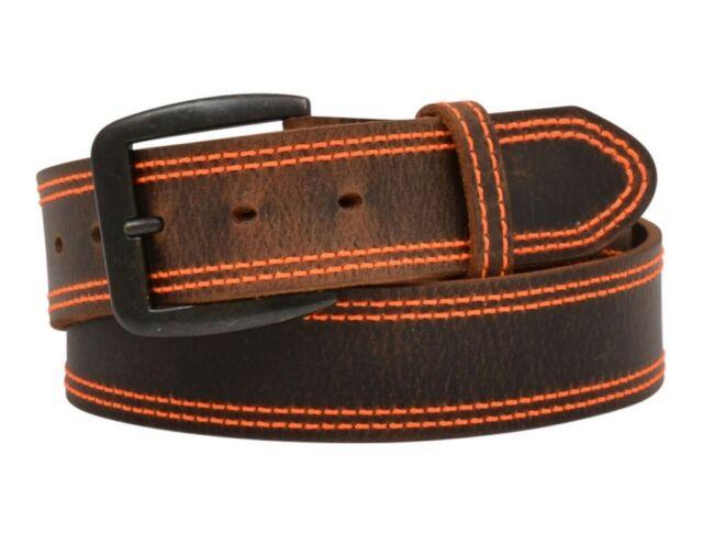 3D 1 1//2 Brown Mens Western Fashion Belt