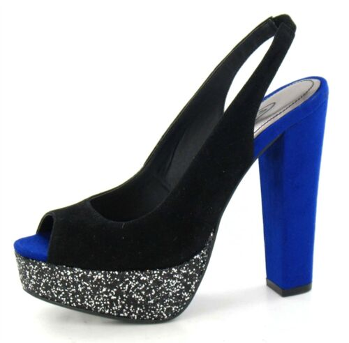 Ladies Spot On High Heel Platform Shoe