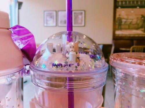Starbucks Korea 2017 Limited Bearist Figure/&Star Siren ColdCup Tumbler 473ml