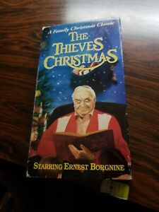 VHS-THE-THIEVES-CHRISTMAS-A-Family-Christmas-Classic-Told-by-Ernest-Borgnine