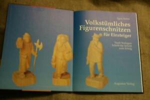 Fachbuch Schnitzen, Schnitzer, Holzfiguren, Holzkunst,Anleitung Figurenschnitzen