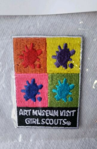 10pc Girl Scouts Patches Badge Fun Art Museum Visit Brownies Juniors Cadette Lot