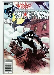 Web-Of-Spider-Man-1-Canadian-Newsstand-Price-Variant-Key-Book-Rare