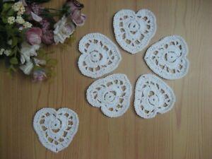 Doilies Crochet Applique Small Doilies 4 cms Set of 4 Hand Crocheted Mini Doilies,Mini Doilies