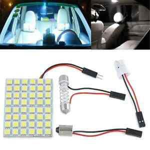 T10-Festoon-domo-coche-interior-blanco-48-SMD-5050-LED-Luz-Lampara-Panel-BA9S-12V