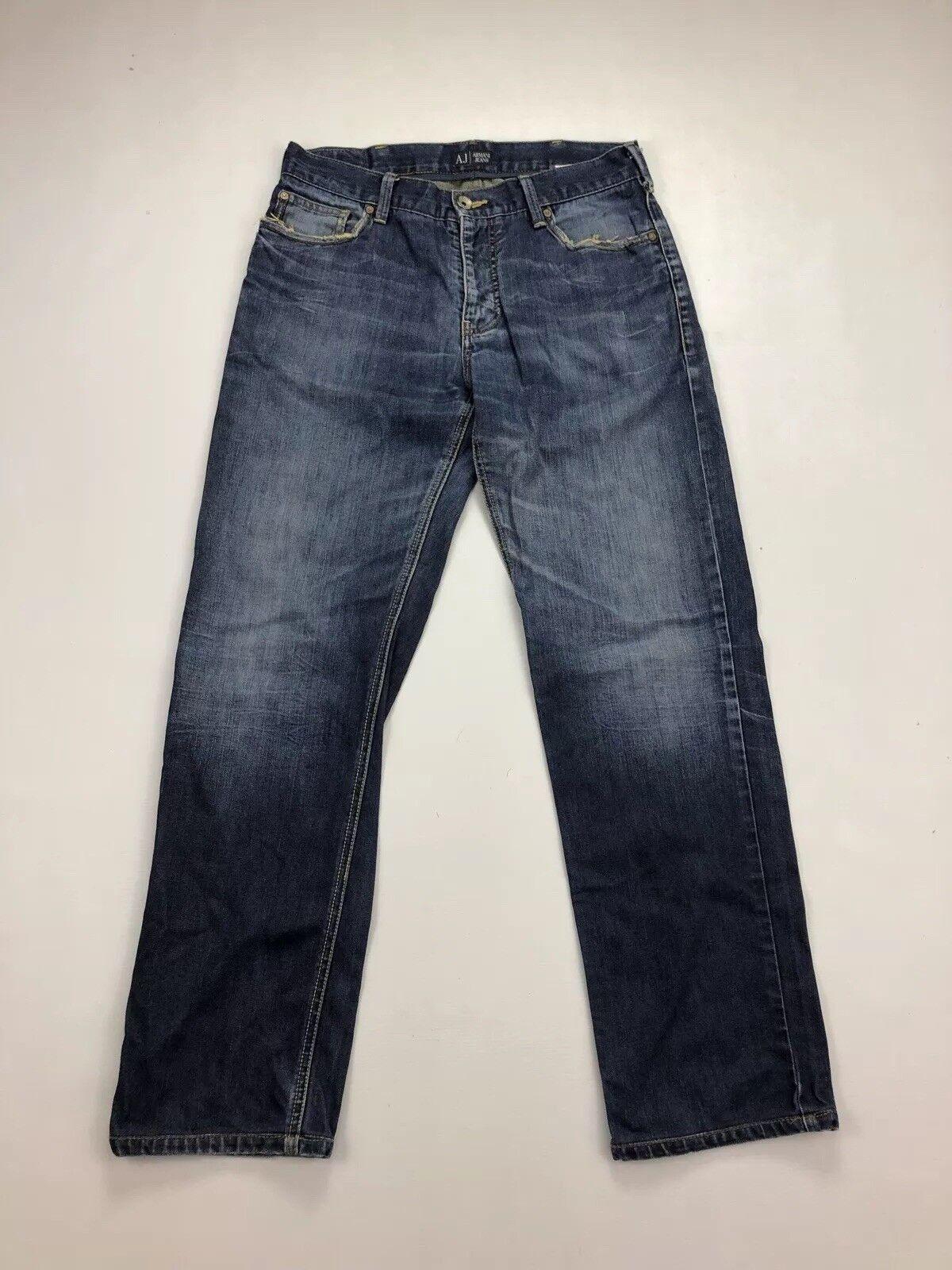 ARMANI Regular Fit Jeans - W33 L32 - Navy - Great Condition - Men's     | Lass unsere Waren in die Welt gehen  | Lass unsere Waren in die Welt gehen  | Überlegen