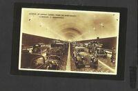 Nostalgia Postcard Interior Mersey Tunnel under River-Liverpool & Birkenhead