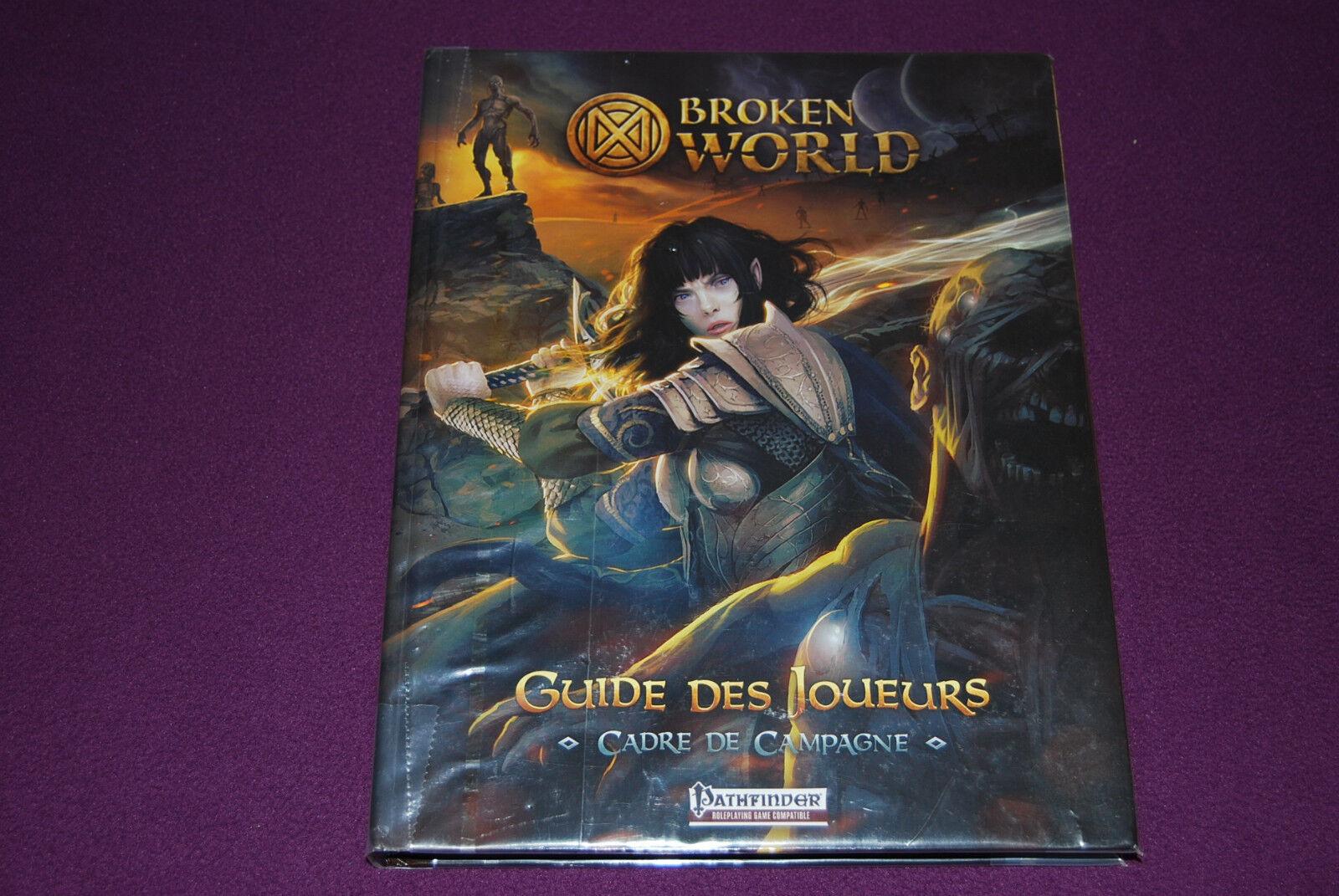 PATHFINDER JDR Jeu de Role - Broken World   Guide des Joueurs Cadre de Campagne