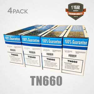 4x-PACK-High-Yield-TN660-TN630-Toner-Cartridge-HLL2300D-For-Brother-DCP-L2540DW