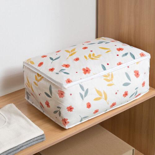 Foldable Storage Bag Clothes Blanket Quilt Closet Sweater Organizer Box Pouch