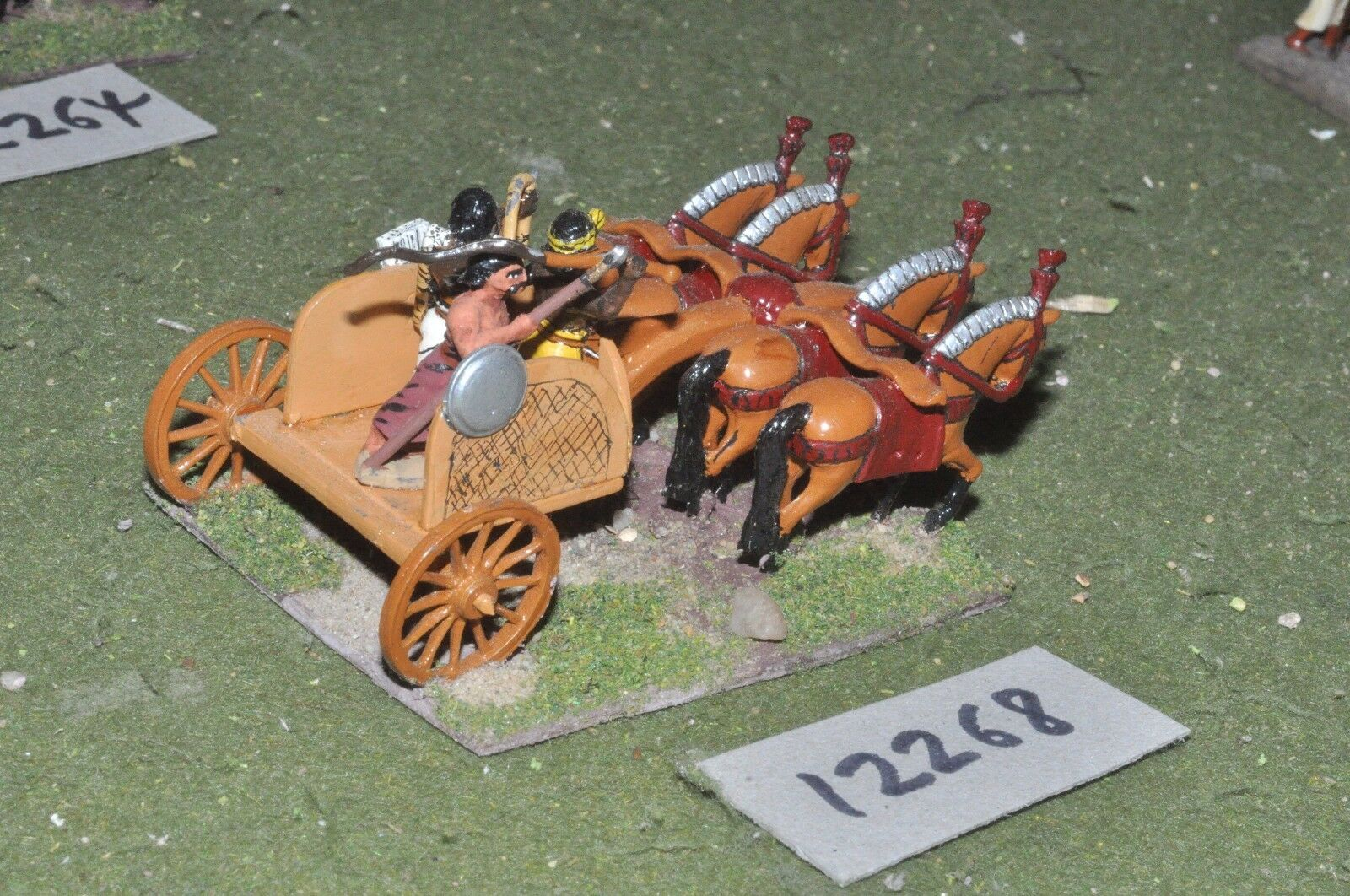 25mm classical   indian - ancient chariots 1 chariot - chariot (12268)