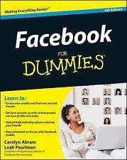 Facebook For Dummies, Abram, Carolyn, New Books