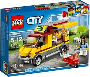 LEGO-City-60150-Great-Vehicles-Furgone-delle-Pizze-truck-food-REGALO-NATALE-NEW